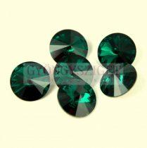 Swarovski rivoli 14mm - Emerald