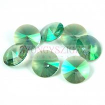 Swarovski rivoli 14mm - Light Turquoise Luminous Green