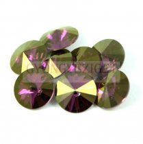 Swarovski rivoli 14mm - crystal lilac shadow