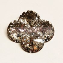 Swarovski rivoli 14mm - Crystal Rose Patina