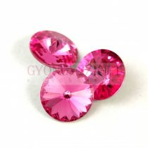 Swarovski rivoli 14mm - rose