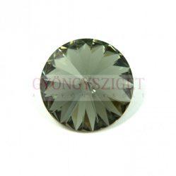 Swarovski rivoli 14mm - black diamond