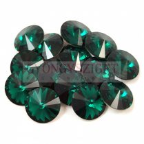 Swarovski rivoli 8mm - Emerald