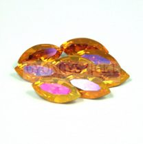 Swarovski XILION Navette 15x7mm - crystal astral pink