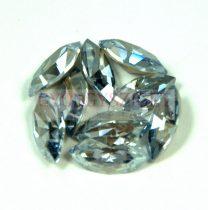 Swarovski XILION Navette 15x7mm -crystal blue shade