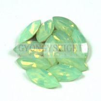 Swarovski XILION Navette 15x7mm - chrysolite opal
