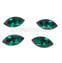 Swarovski XILION Navette 15x7mm - emerald