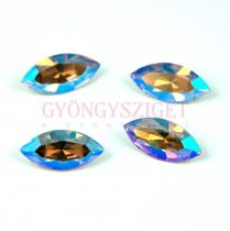 Swarovski XILION Navette 15x7mm - light colorado topas shimmer