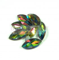Swarovski XILION Navette 15x7mm - crystal vitral medium