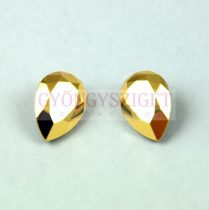 Swarovski pear- Crystal Aurum - 14x10mm