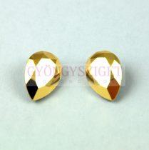 Swarovski pear- Crystal Aurum - 14x10mm