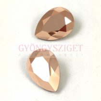 Swarovski pear- Rose Gold - 14x10mm
