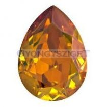 Swarovski pear- crystal copper -18x13mm