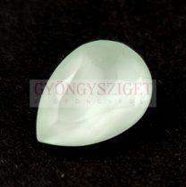 Swarovski pear - Crystal Powder Green - 18x13mm