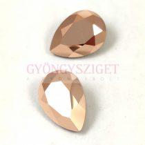 Swarovski pear - Rose Gold - 18x13mm