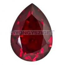 Swarovski pear- siam -18x13mm