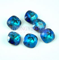 Swarovski round square - 10mm - Crystal Bermuda Blue