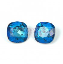 Swarovski round square - Crystal Bermuda Blue - 12mm