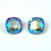Swarovski round square - Black Diamond Shimmer - 10mm