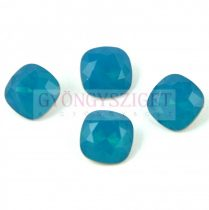 Swarovski round square - Carribian Blue Opal - 10mm