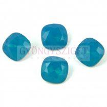 Swarovski round square - Carribian Blue Opal - 10mm
