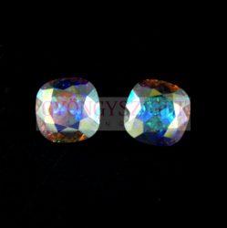 Swarovski round square - crystal ab - 12mm