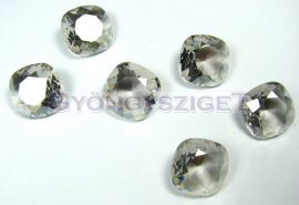 Swarovski round square - crystal silver shade fóliázatlan - 12mm