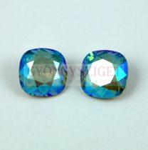 Swarovski round square - Erinite Shimmer - 10mm