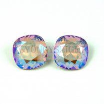 Swarovski round square - light colorado topas shimmer - 12mm