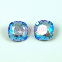 Swarovski round square - Light Sapphire Shimmer - 10mm