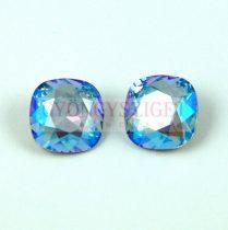 Swarovski round square - light sapphire shimmer - 12mm
