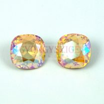 Swarovski round square - light topas shimmer - 12mm