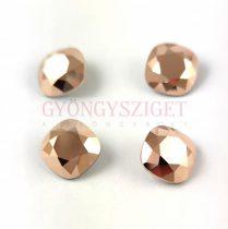 Swarovski round square - Crystal Rose Gold - 10mm