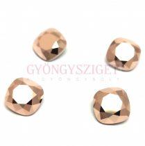 Swarovski round square - Crystal Rose Gold - 12mm