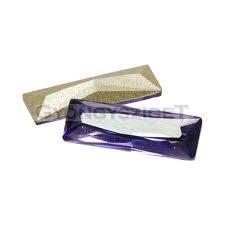 Swarovski-princess baquette-tanzanite-15x5mm