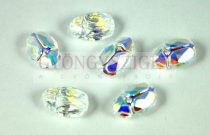 Swarovski - 5728 - scarabeus gyöngy - crystal ab - 12mm