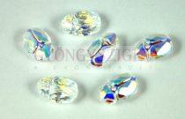 Swarovski - 5728 - Scarabaeus gyöngy - Crystal ab - 12mm
