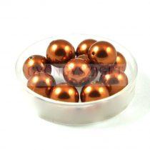 Swarovski imitation pearl - copper -8mm