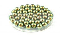 Swarovski imitation pearl - iridescent green -8mm