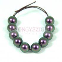 Swarovski imitation pearl - iridescent purple -8mm
