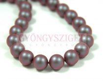 Swarovski imitation pearl - iridescent red -8mm