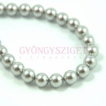 Swarovski igazgyöngy utánzat - Light Grey - 6mm