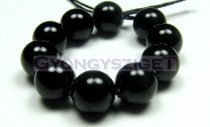 Swarovski imitation pearl - Mystic Black - 8mm