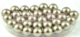 Swarovski imitation pearl - platinum -8mm