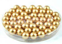 Swarovski imitation pearl - vintage gold -8mm