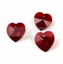 Swarovski Xilion Heart Pendant 14.4m14mm - Siam