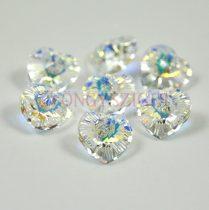 Swarovski Xilion Heart Pendant 18x17.5mm - crystal ab
