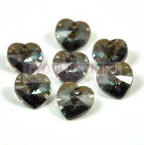 Swarovski fűzhető szív 10.3x10.0mm - crystal bronze shade