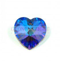 Swarovski fűzhető szív 18x17.5mm - crystal heliotrope