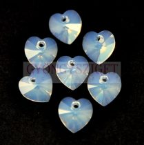 Swarovski fűzhető szív 10.3x10.0mm - White Opal